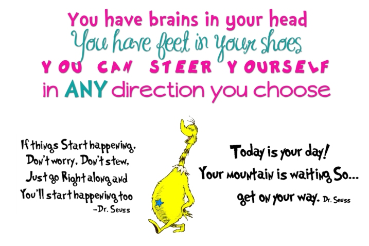 Dr Seuss Today Is Your Day Quote: Happy Birthday Dr Seuss!